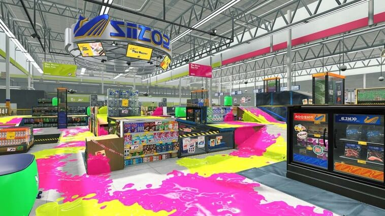 スプラトゥーンの新ステージ:ザトウマーケット